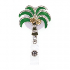 Hainan Island Coconut Tree ID Badge Reel