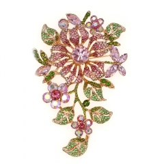 Extremely Complicated Flower Brooch