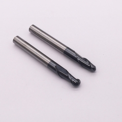 Carbide ball end mill extended long AiTIN coating