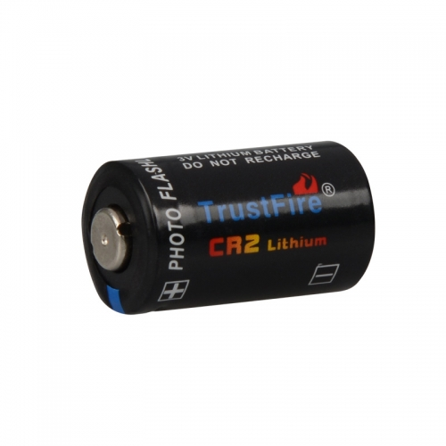 TrustFire CR2A 750mAh Primary Battery - Black (4PCS)