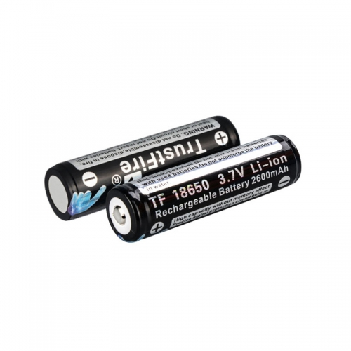 TrustFire 18650 2600mAh Li-ion Recharbeable Protected Battery (2PCS)
