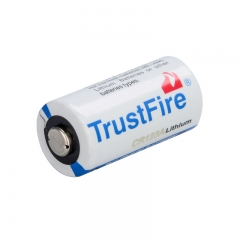 TrustFire CR123A 1400mAh Primary Battery - White (4PCS)