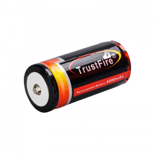 TrustFire 25500 4000mAh Li-ion Recharbeable Protected Battery (1 pc)