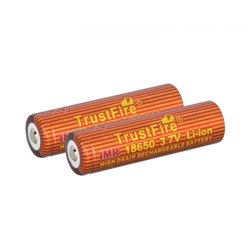 TrustFire IMR 18650 1500mAh Lithium-ion 3.7V High Drain Recharbeable Battery (2PCS)