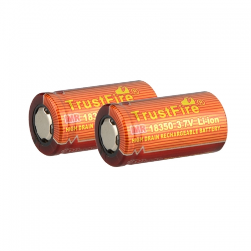 TrustFire IMR 18350 700mAh Lithium-ion 3.7V High Drain Recharbeable Battery (2PCS)