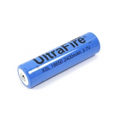 UltraFire 18650 2400mAh Li-ion Recharbeable Battery (2PCS)
