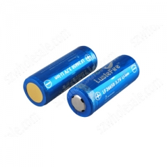 LusteFire 26650 5000mAh Li-ion Recharbeable Protected Battery (2PCS)
