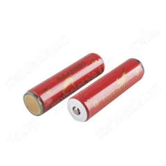 LusteFire 18650 2600mAh Li-ion Recharbeable Protected Battery (2PCS)