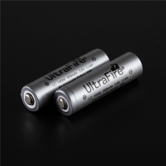 UltraFire AA 14500 900mAh Li-ion Recharbeable Protected Battery (2PCS)