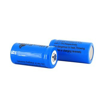 UltraFire 16340 RCR123A 880mAh Li-ion Recharbeable Battery (2PCS)