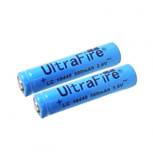 UltraFire AAA 10440 500mAh Li-ion Recharbeable Battery (2PCS)