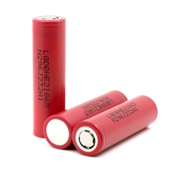 LG 18650 HE2 Power Battery 2500mAh Li-ion Recharbeable Battery