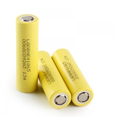 LG 18650 HE4 Power Battery 2500mAh Li-ion Recharbeable Battery