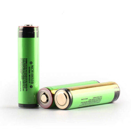 Panasonic NCR18650B 3400mAh Li-ion Recharbeable Battery Built-in Protection Circuit