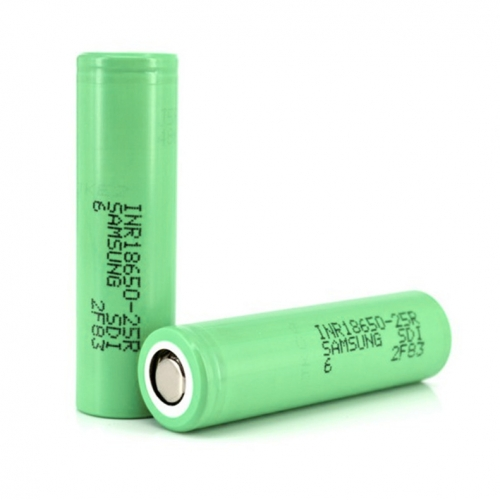 Samsung INR 18650 25R Power Battery 2500mAh Li-ion Recharbeable Battery