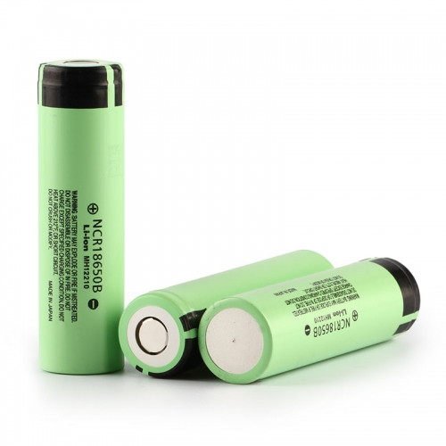 Panasonic NCR18650B Battery 3400mAh Li-ion Recharbeable Battery