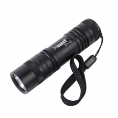 HUGSBY Mini XP-13 CREE R5 450 Lumens Waterproof LED Flashlight 1 Mode AAA Pocket Outdoor Camping Hunting LED Torch