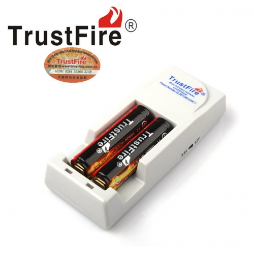 TrustFire TR-001 Multi-Purpose Lithium Battery Charger White