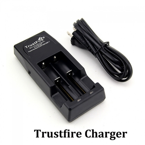 TrustFire TR-001 Multi-Purpose Lithium Battery Charger Black