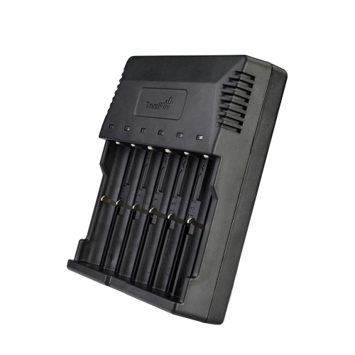TrustFire TR-012 6 Slots Intelligent Battery Charger LCD Display for Rechargeable Li-ion Ni-MH Battery US/EU Plug