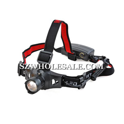 MXDL 3-Mode Max 210 Lumens CREE Q3 Zoomable Headlight Headlamp (HZ-3xAAA)