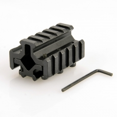 Aluminum Alloy 21mm Gun Mount Rail with Hex Wrench for Flashlight Laser