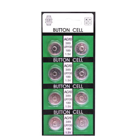 AG10(LR1130) Button Cell Battery(AG10)