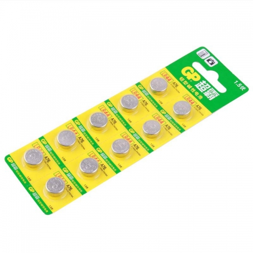 50 pcs of GP LR44 A76 V13GA PX76A 1.5V Button Alkaline Battery Cell