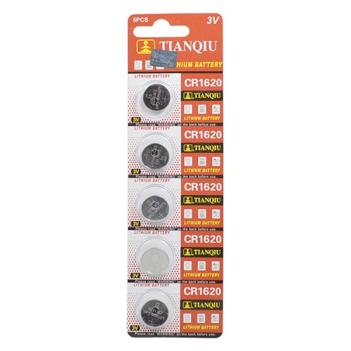 50 pcs of 3V Lithium Coin Cells Button Battery CR1620 1620 ECR1620 EE6222