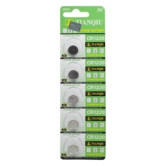 50 pcs of 3V CR1220 BR1220 ECR1220 LM1220 Watch Button Coin Cell Lithium Batteries