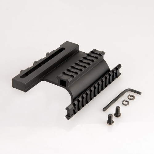 Aluminum Alloy Gun Side Rail Mount 21mm for Flashlight Laser