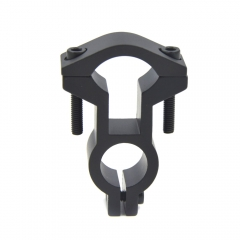 Dual Ring Barrel Tube Adapter Mount Scope Flashlight Mount Gun Hunting Scope Mount