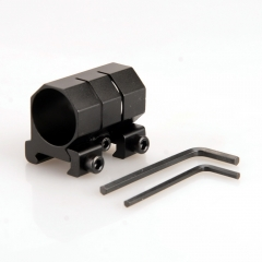 Aluminum Alloy 25mm 1'' Ring Gun Accessories 21mm Weaver Scope Torch Rail Mount Tactical Hunting Mounts