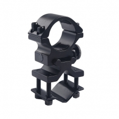 "25.4mm/1"" Inch Scope Mount Ring And 20mm Barrel Clamp Adapter Tactical Flashlight Laser Sight Mount Holder"