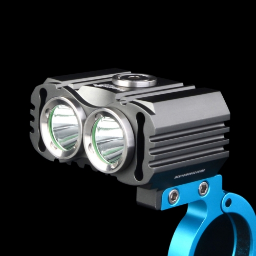 TrustFire D016 Two XM-L2 T6 800 Lumens LED Bicycle Light with 18650 Battery Pack