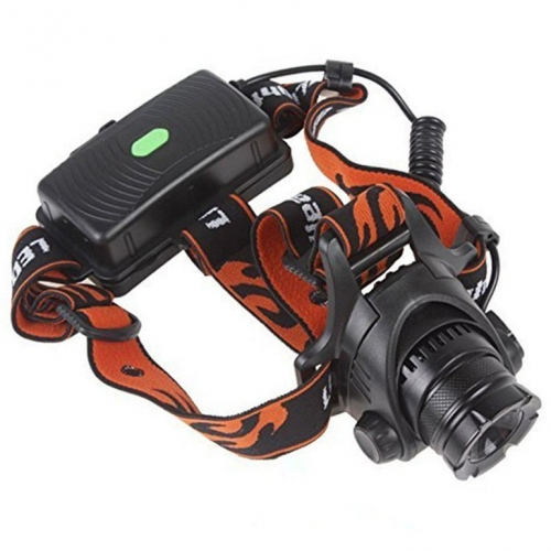 Romisem CREE XM-L2 T6 LED Zooming Headlight Headlamp Biking Fishing Light