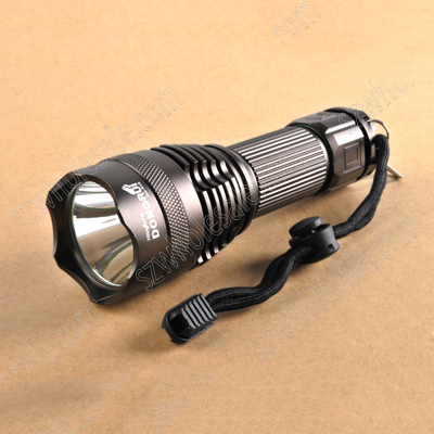 DONGRUI XM-L T6 1x18650 5mode 1010lumens flashlight(FC-918)