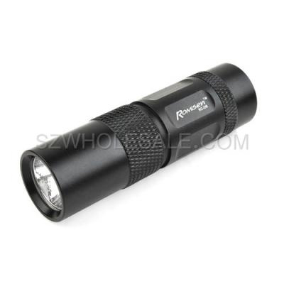 RoMisen EDC CREE Q3 150Lumens 1xCR123A Magnetic Tailstock Flashlight Torch (FL-RC-D6)