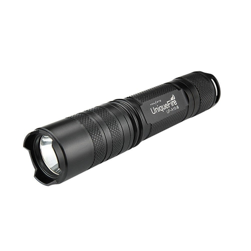 UniqueFire EDC XM-L T6 3-Mode 1000lumens 1x18650 Flashlight (UF-A10-B)