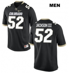 07f12026415 New NCAA #52 Leo Jackson III football Jersey Colorado Buffaloes College Jerseys  Nike Men's Black Stitching free shipping ...