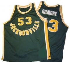 59e1e09a328f Cheap custom  53 Artis Gilmore Jacksonville University Throwback NCAA  college basketball jerseys Green TANK TOP Men s Stitched Jersey ...