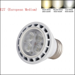 Type B: E26/E27/GU10/MR16 3030 SMD LED Spotlight