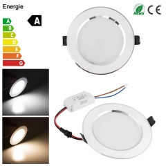 Dimmable 3W-18W LED Recessed Ceiling Flat Panel Down Light Ultra Slim Bulb Lamps