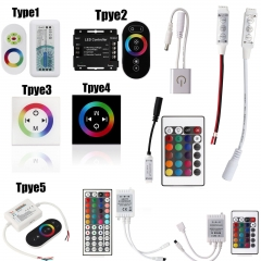 LED Strip Light Mini 3/24/44 Key IR Remote Wireless RGB Controller For 3528 5050