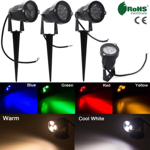 9W 12W 15W Waterproof LED Flood Light Spotlight Bulb Landscape Garden Yard Lamp