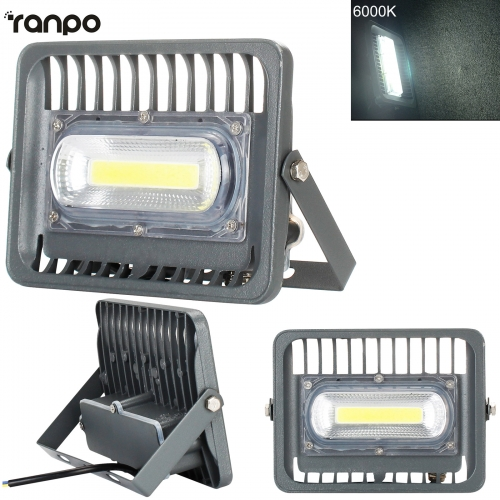 50W 100W Waterproof IP66 COB Chip Led Outdoor Floodlight Bulb Lamp White Light