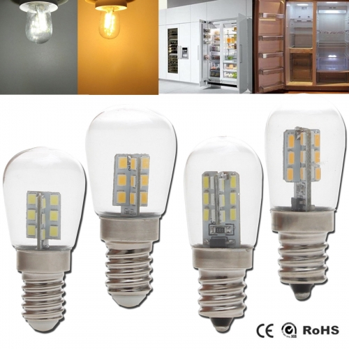 Ranpo Mini LED Corn Light Freezer Fridge Bulb E14 E12 3W 4W 2835 3014 SMD Lamp AC 220V