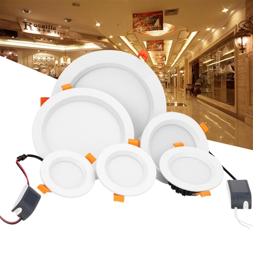 RANPO LED Recessed Ceiling Downlight Bulb Fixture 3W 5W 9W 12W 18W 24W 36W Spot Lamp