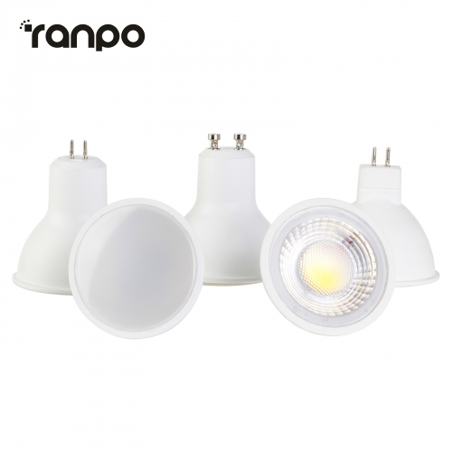 Ranpo LED COB Spotlights MR16 GU10 GU5.3 5W 6W 7W 9W Spot light Bulb Ultra Bright Lamp