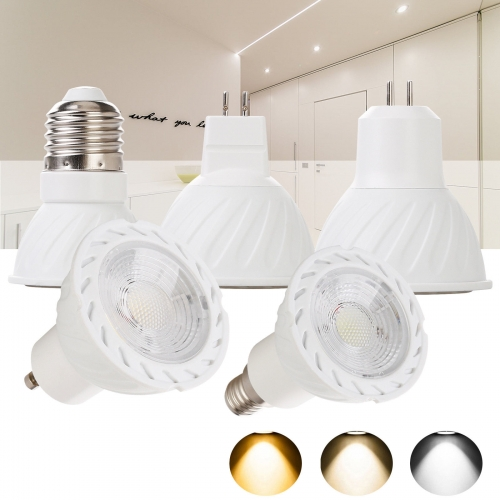 Ranpo Dimmable LED Spot Light Bulbs GU10 MR16 E27 GU5.3 E14 30W Equivalent Lamp 110V